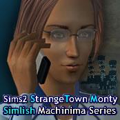 StrangeTown Monty - Sims 2 Machinima Series (Simlish voices - English subtitles)