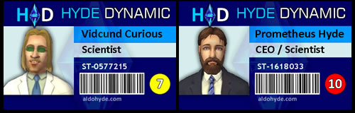 Hyde Dynamic: Vidcund Curious & Dr Prometheus Hyde