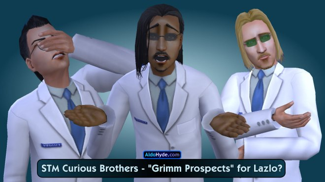 Curious Brothers: Pascal, Lazlo, Vidcund