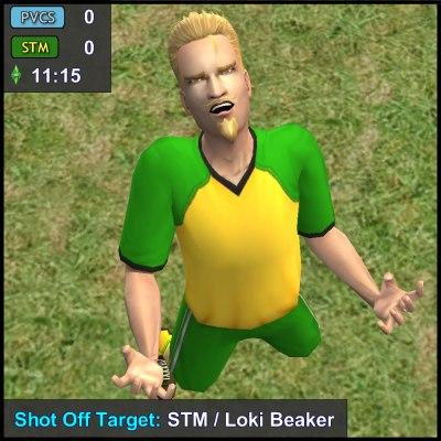 Shot Off Target: Loki Beaker