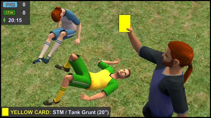 Yellow Card: Tank Grunt
