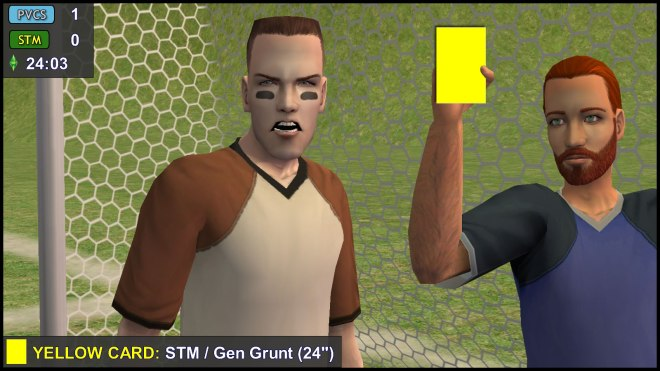 Yellow Card: General Buzz Grunt