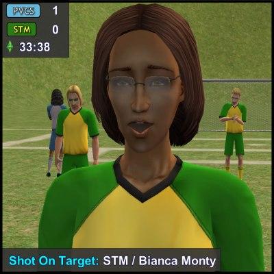 Shot On Target: Bianca Monty