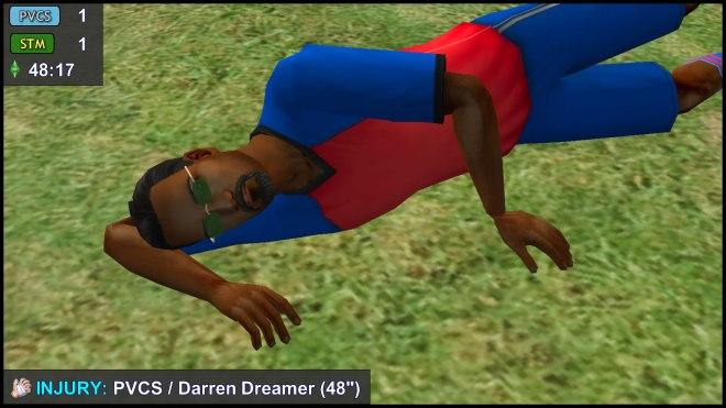 Injury - Darren Dreamer