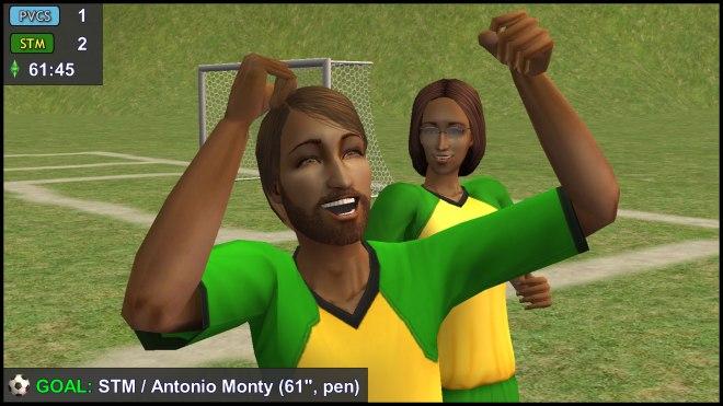 Goal: Antonio Monty