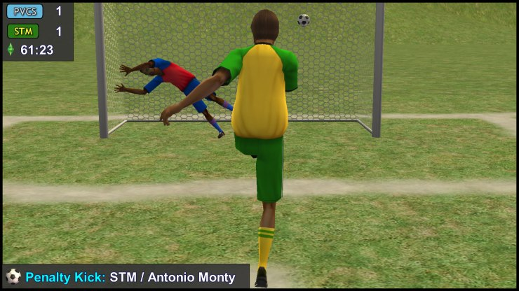 Penalty Kick: Antonio Monty