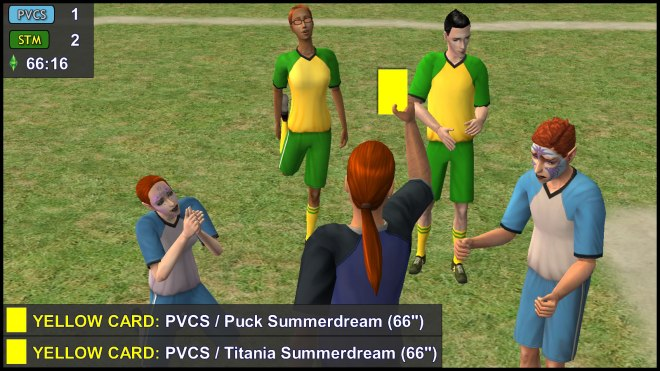 Yellow Cards: Titania & Puck Summerdream