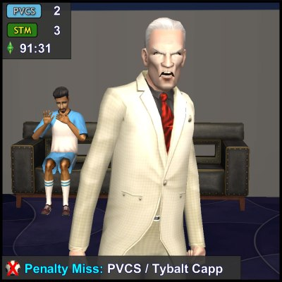 Don Lothario is Freaked Out by Consort Capp