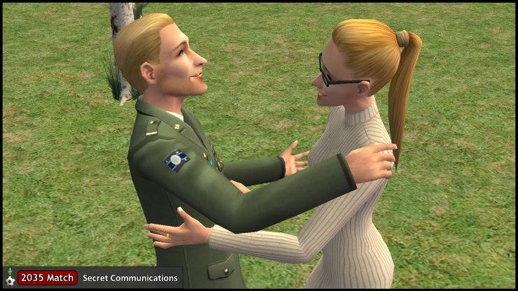 Regan Capp & Kent Monty - Sibling Embrace