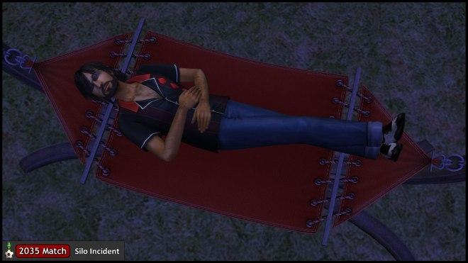 Mercutio Monty Relaxing