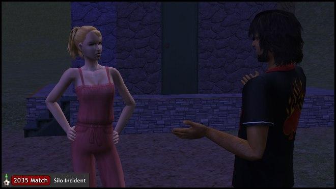 Mona Capp confronts Mercutio Monty