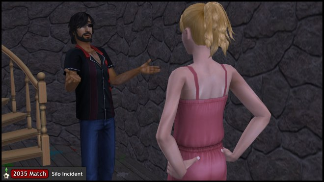 Mercutio Monty taunts Mona Capp