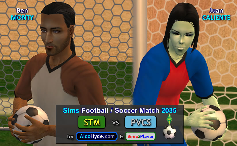 Sims Football 2035 Match – STM vs PVCS
