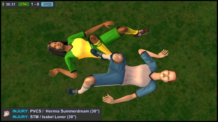 Isabel Loner clashes with Hermia Summerdream