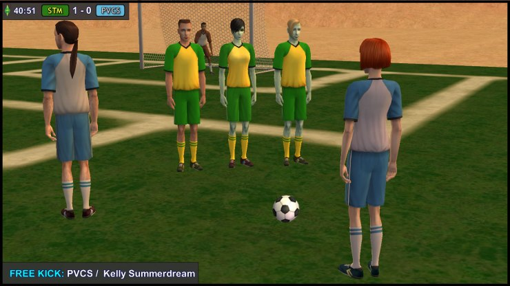 Free Kick: Kelly Summerdream