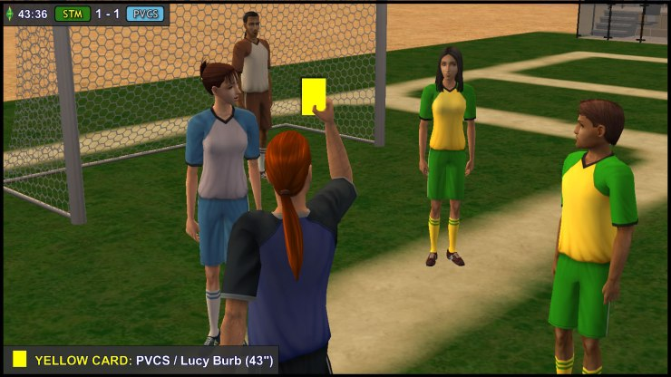 Yellow Card: Lucy Burb