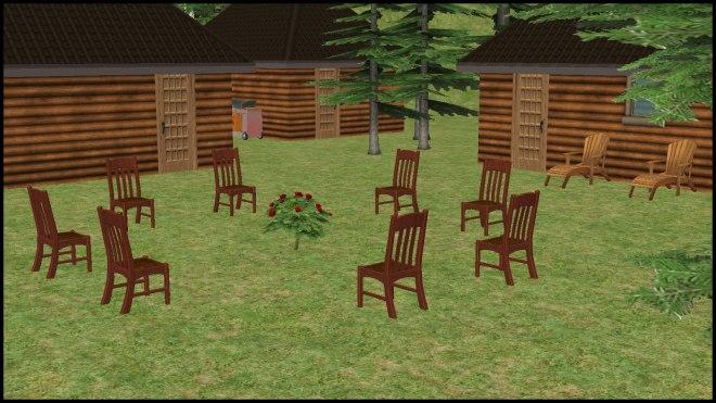 Rose Garden - Council Circle