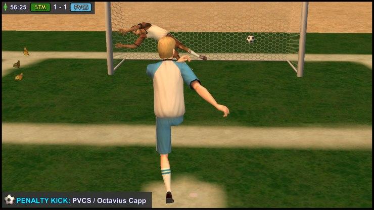 Penalty Kick - Octavius Capp