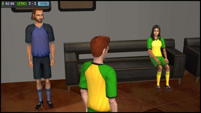 Albert Beaker dares to threaten Claudia Monty in front of Dressing Room Guard Sepp Rossi
