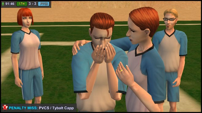 Hermia Summerdream consoles her brother Tybalt Capp