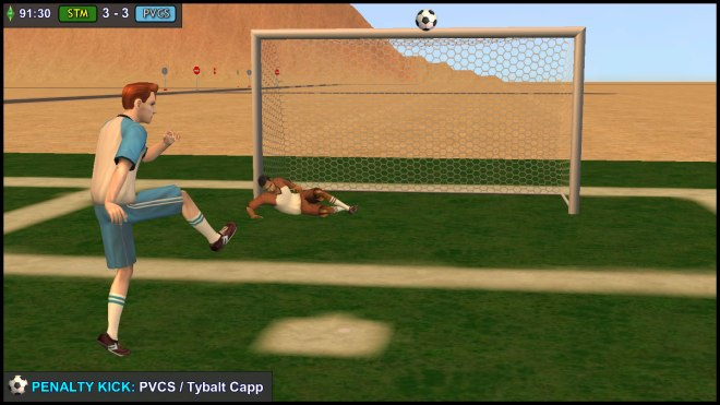 Penalty Kick - Tybalt Capp