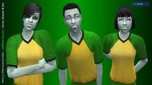2035 Curious Cousins: Vivian, Newton, Zoe (grown-up alien babies of Vidcund, Pascal & Lazlo respectively)