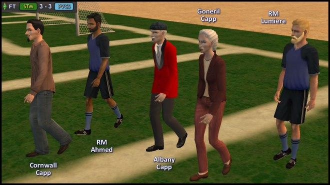 RM Ahmed & Lumiere escort Cornwall, Albany & Goneril Capp
