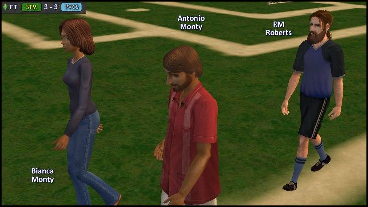 RM Roberts escorts Bianca & Antonio Monty