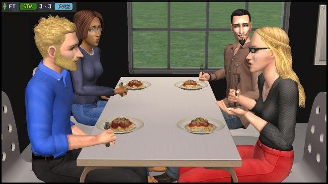 Senior Table - Bianca & Kent Monty, Regan & Cornwall Capp