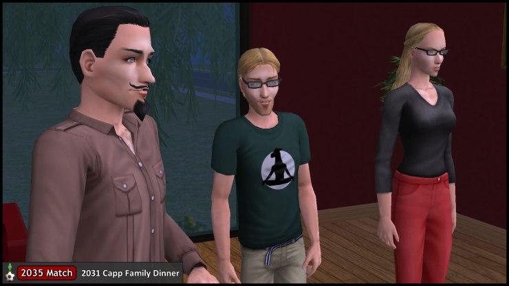 Octavius Capp asks his parents Cornwall & Regan about cousin Tybalt