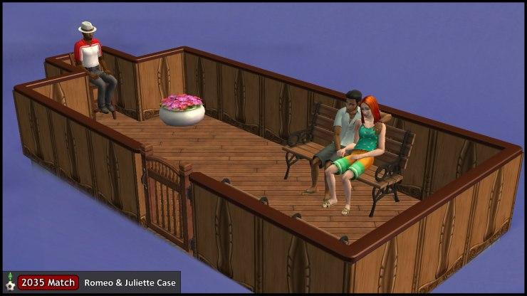 Romeo & Juliette Monty on their Gondola Ride