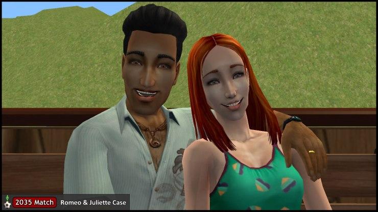 Romeo & Juliette Monty enjoy a romantic getaway