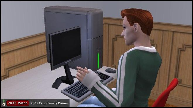 Tybalt Capp boots computer