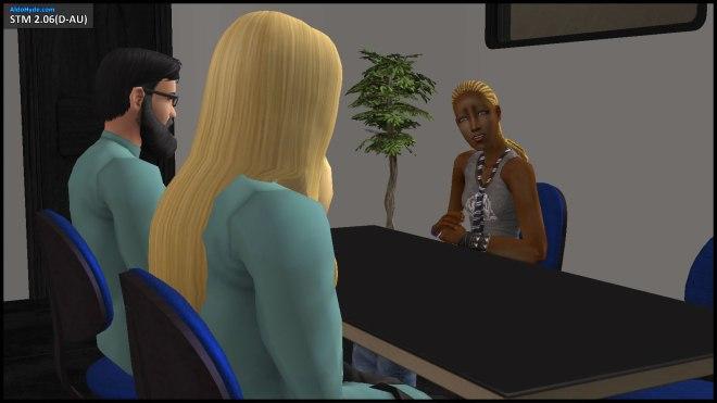 Ophelia Nigmos begins her confession