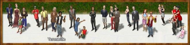 Veronaville Families: Summerdream, Monty, Capp