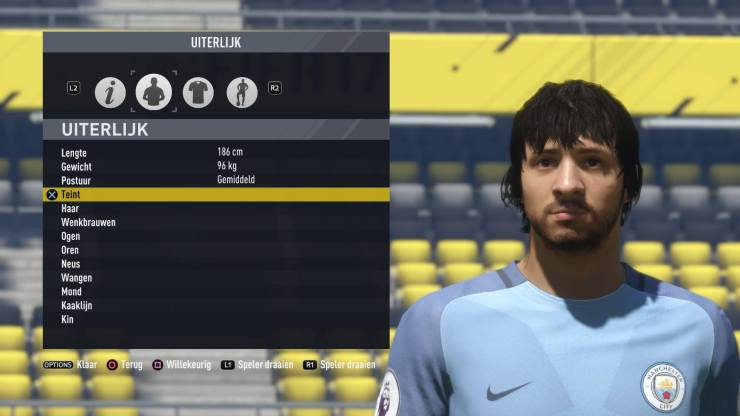 FIFA 17 Mercutio Monty Closeup