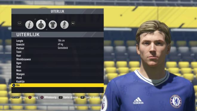 FIFA 17 Octavius Capp Closeup