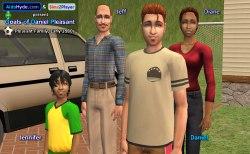 Pleasant Family Early 1980s: Jeff, Diane, Daniel, Jennifer