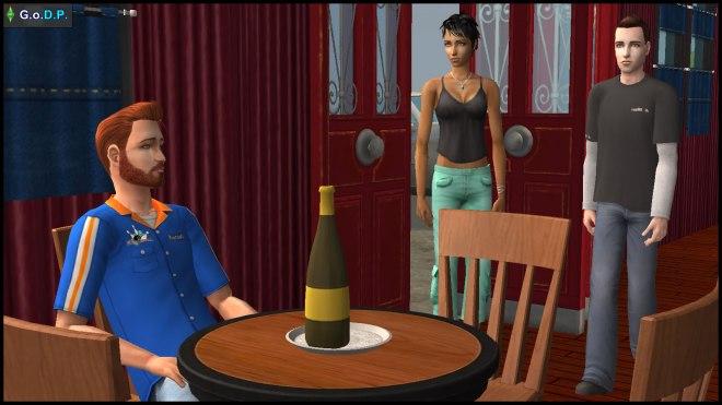 Jennifer & John Burb meet Daniel Pleasant at a sports bar