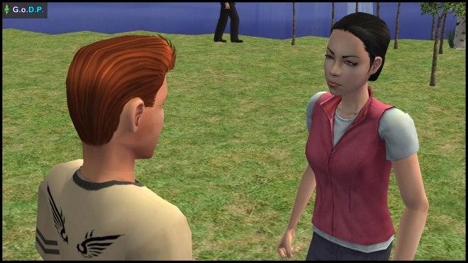 Teen Mary-Sue Oldie rejects Daniel Pleasant's romantic advances