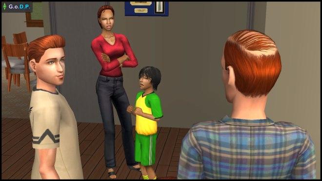 Diane Pleasant is displeased with Jennifer's antics