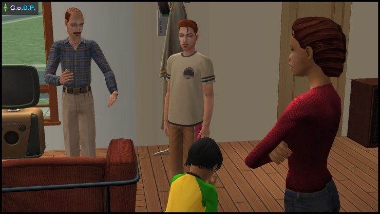 Jeff Pleasant forgives Jennifer, and stands up for her, while Daniel tries not to get involved