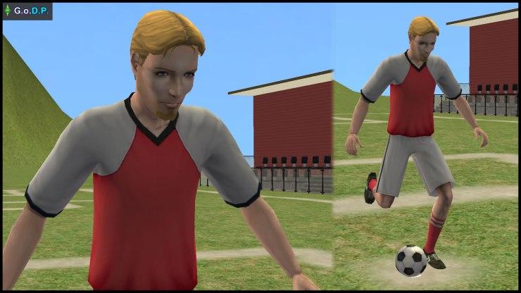 Beau Broke, midfielder of Simley Town FC