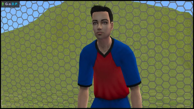 Skip Jr Broke, goalkeeper of Simley Town FC