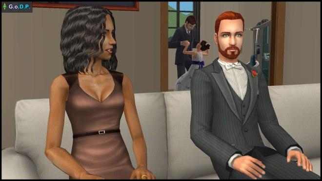 Daniel Pleasant & Jennifer Burb have an important chat