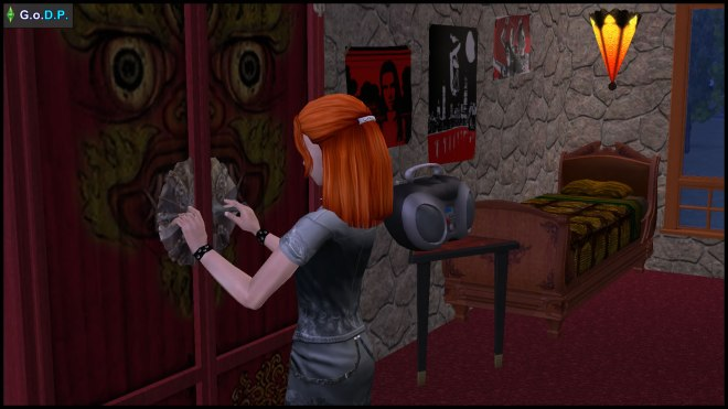 Lilith Pleasant makes decisions about her belongings