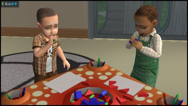 Parker Pleasant & Demetrius Dreamer - Daniel Pleasant's son & grandson respectively