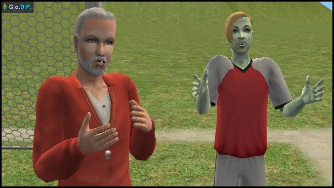 Daniel Pleasant & Johnny Smith - Simley Town training