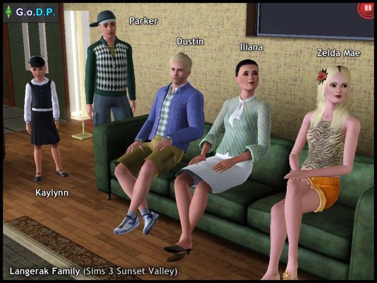 Langerak Family: Kaylynn, Parker, Dustin, Iliana & Zelda Mae