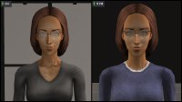 Bianca Monty: Canon/Default/Original Appearance vs STM Version